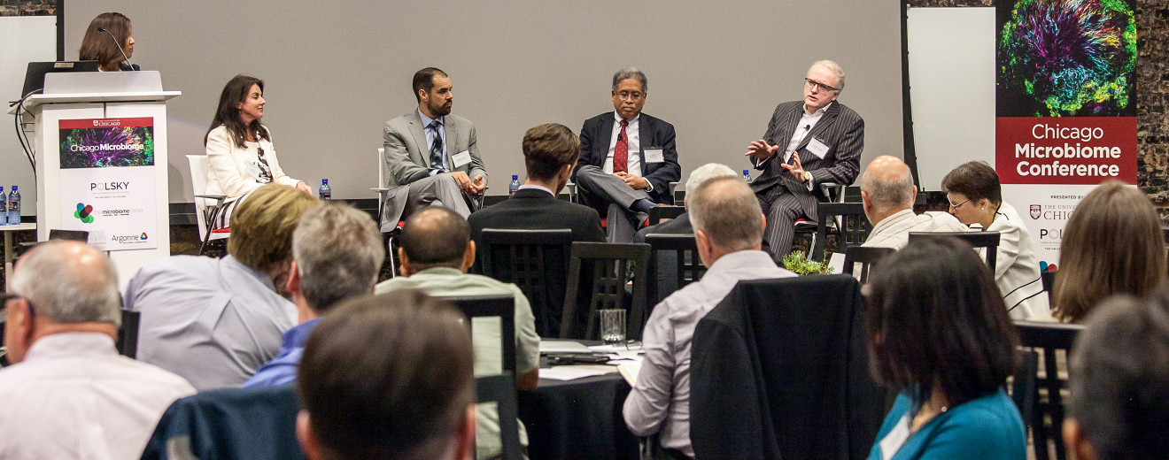 Scientists and  business leaders tackle shared challenges at first-ever Chicago Microbiome Conference