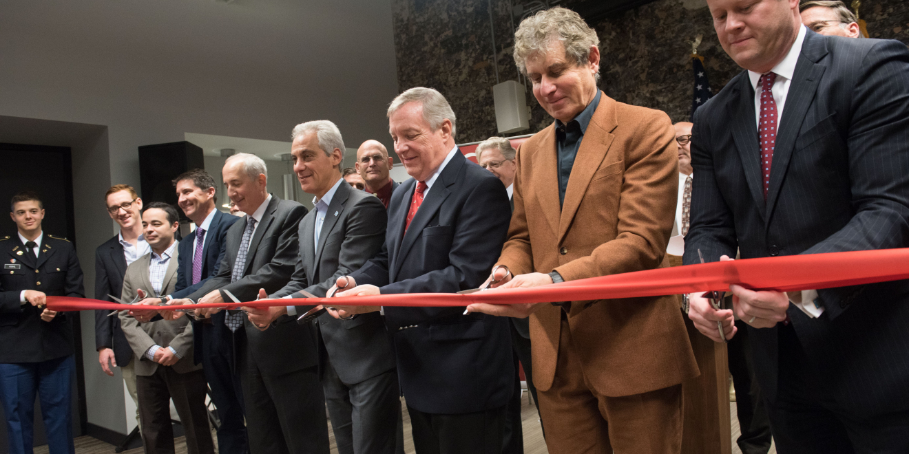 UChicago and U.S. Army Research Laboratory cut ribbon on ARL Central