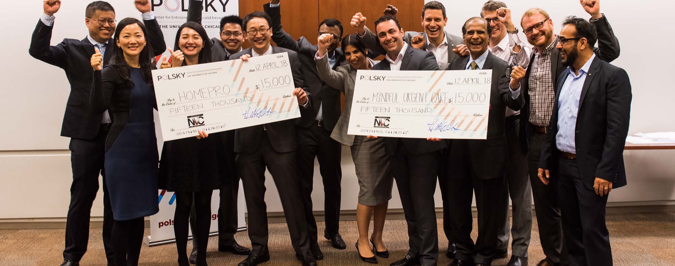 Two First-Place Winners Selected at 2018 Global New Venture Challenge Finals