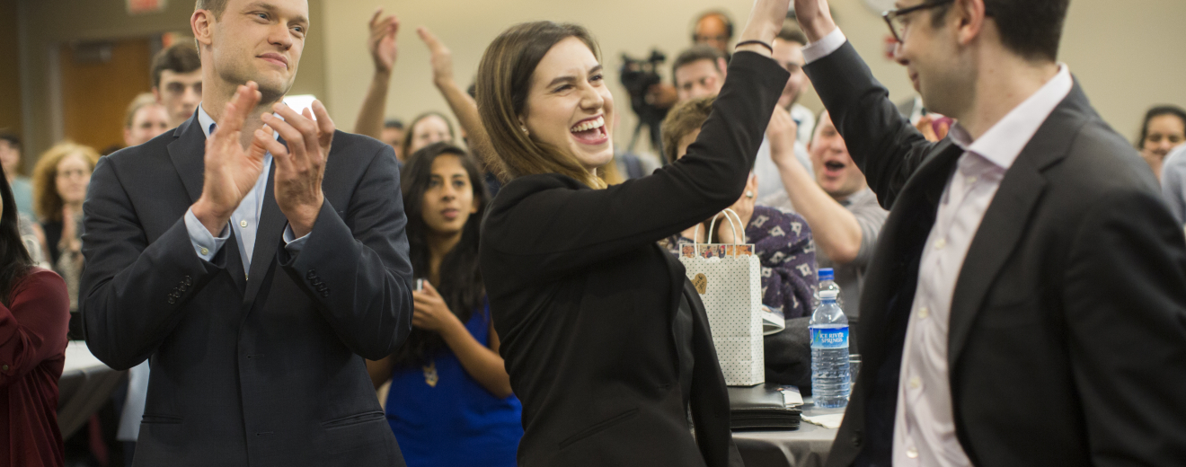 AIM Clinics wins first place at the 2018 Social New Venture Challenge