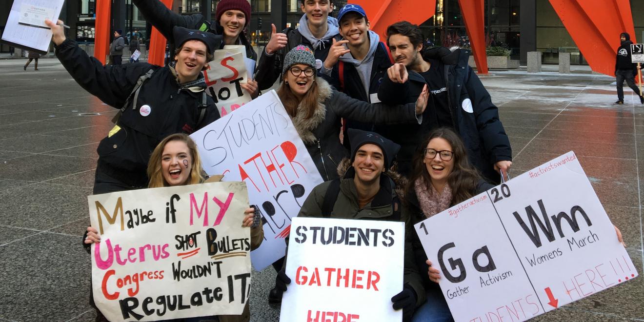Undergraduate-led startup delivers platform for political change