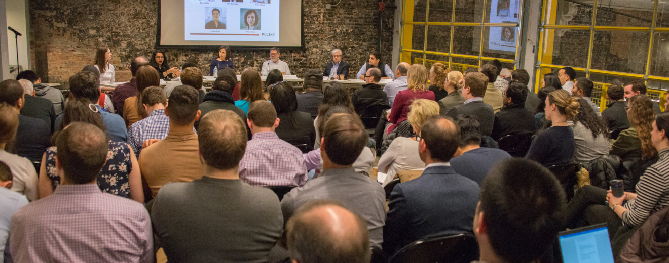 Experts In Health Tech Share Ideas and Insights at First Polsky Entrepreneurial Outlook Series Event