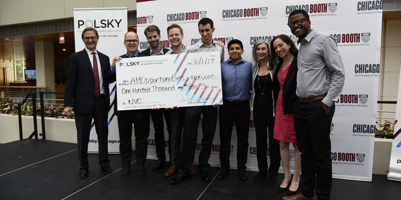 AMOpportunities becomes the fifth venture investment through the UChicago Startup Investment Program