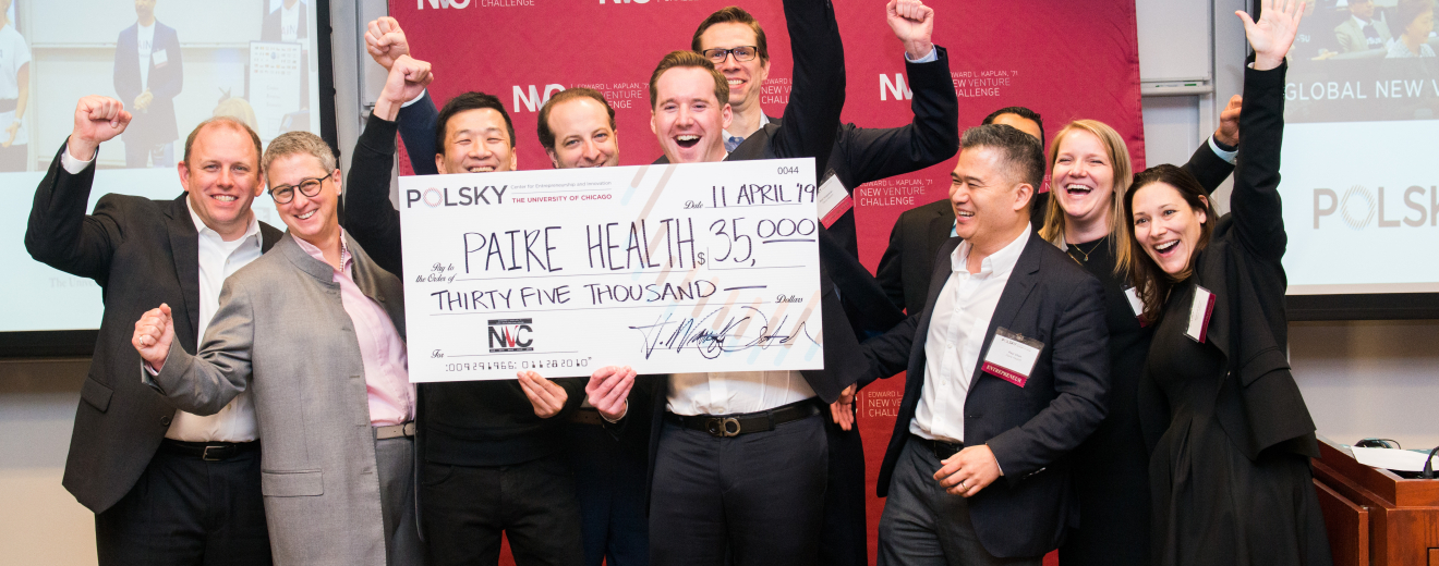 Paire Health Wins First Place and $35,000 at the 2019 Global New Venture Challenge