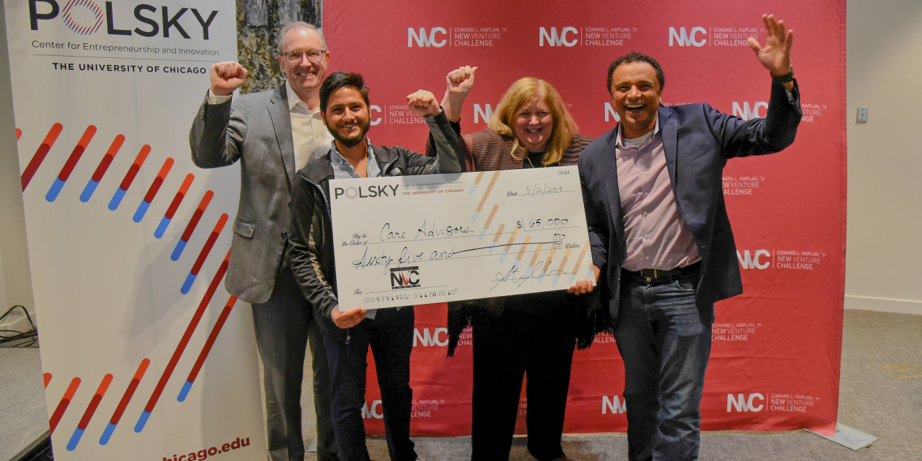 Care Advisors Wins $65,000 at First-ever Alumni New Venture Challenge