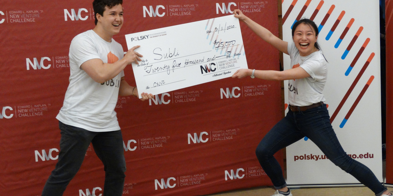 Subli, a peer-to-peer subletting marketplace, wins $25,000 at the 2020 College New Venture Challenge
