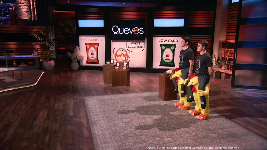 Quevos Lands $200,000 Investment on ABC's Shark Tank from KIND Snacks Founder Daniel Lubetzky