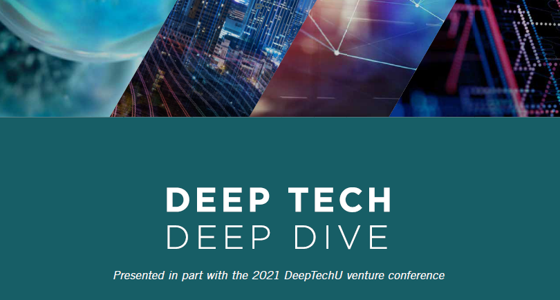 Deep tech is an interdisciplinary approach to solving fundamental issues – one that leverages several advanced technologies to reimagine what is possible.
